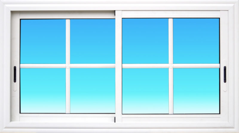 Fenêtre coulissante CF22-PANORAMIQUE aluminium 2 vantaux Gamme Cayenne MG ALUMINIUM
