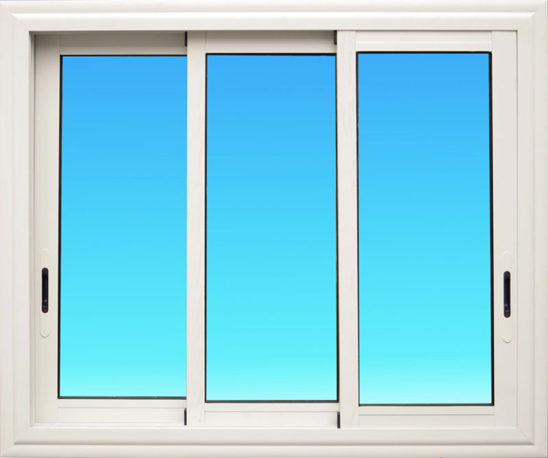 Fenêtre coulissante CF31 aluminium 3 vantaux Gamme Vision MG ALUMINIUM