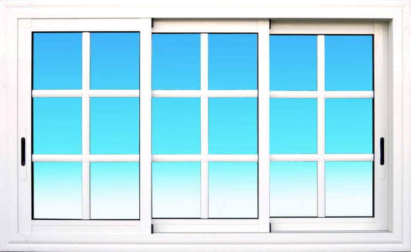 Fenêtre coulissante CF32 aluminium 3 vantaux Gamme Cayenne MG ALUMINIUM